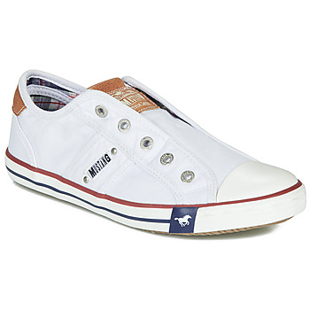 Παπούτσια Γυναίκα Χαμηλά Sneakers Mustang NAJERILLA Άσπρο