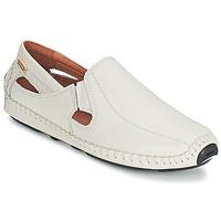 Παπούτσια Άνδρας Μοκασσίνια Pikolinos JEREZ 09Z άσπρο