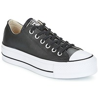 Παπούτσια Γυναίκα Χαμηλά Sneakers Converse CHUCK TAYLOR ALL STAR LIFT CLEAN OX Black / Άσπρο