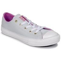 Παπούτσια Κορίτσι Ψηλά Sneakers Converse CHUCK TAYLOR ALL STAR HI Pure / Platinum / Fuchsia / Glow / Ασπρό