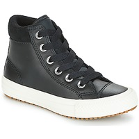 Παπούτσια Παιδί Ψηλά Sneakers Converse CHUCK TAYLOR ALL STAR PC BOOT HI Black / Άσπρο