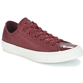 Παπούτσια Γυναίκα Χαμηλά Sneakers Converse CHUCK TAYLOR ALL STAR LEATHER OX Bordeaux