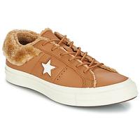 Παπούτσια Γυναίκα Χαμηλά Sneakers Converse ONE STAR LEATHER OX Camel