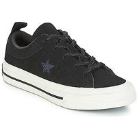 Παπούτσια Παιδί Χαμηλά Sneakers Converse ONE STAR NUBUCK OX Black / Άσπρο