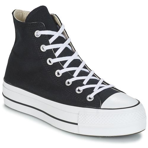 Παπούτσια Γυναίκα Ψηλά Sneakers Converse CHUCK TAYLOR ALL STAR LIFT CANVAS HI Black