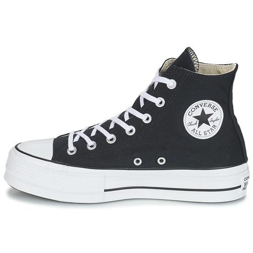 Converse CHUCK TAYLOR ALL STAR LIFT CANVAS HI Black