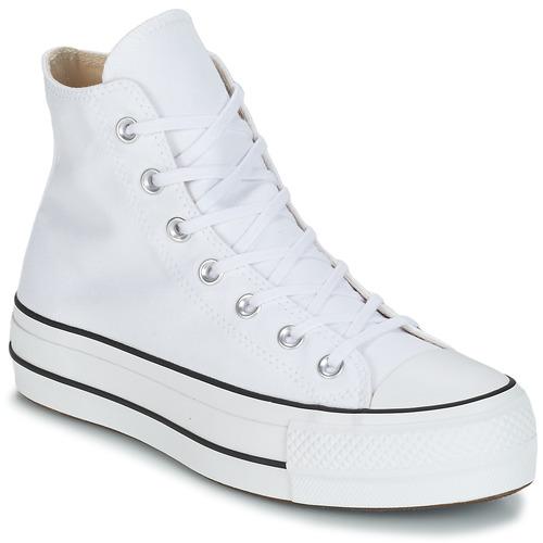 Παπούτσια Γυναίκα Ψηλά Sneakers Converse CHUCK TAYLOR ALL STAR LIFT CANVAS HI Άσπρο