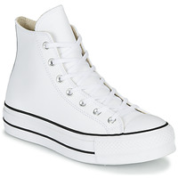 Παπούτσια Γυναίκα Ψηλά Sneakers Converse CHUCK TAYLOR ALL STAR LIFT CLEAN LEATHER HI Άσπρο