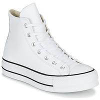Παπούτσια Γυναίκα Ψηλά Sneakers Converse CHUCK TAYLOR ALL STAR LIFT CLEAN LEATHER HI Άσπρο
