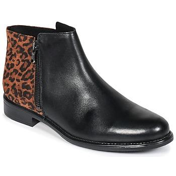 Παπούτσια Γυναίκα Μπότες Betty London JINANE Black / Brown