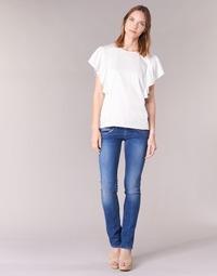 Υφασμάτινα Γυναίκα Τζιν σε ίσια γραμμή Pepe jeans VENUS Μπλέ / Medium