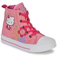 Παπούτσια Κορίτσι Ψηλά Sneakers Hello Kitty LONS ροζ