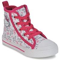 Παπούτσια Κορίτσι Ψηλά Sneakers Hello Kitty LYNDA άσπρο