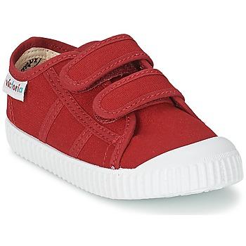 Παπούτσια Παιδί Χαμηλά Sneakers Victoria BLUCHER LONA DOS VELCROS Carmine