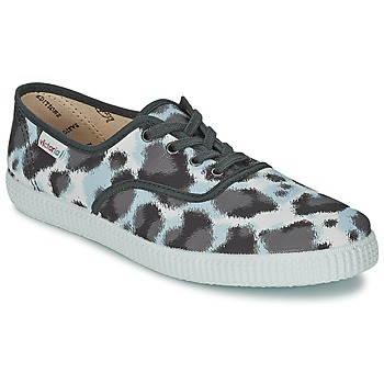 Παπούτσια Γυναίκα Χαμηλά Sneakers Victoria INGLESA ESTAMP HUELLA TIGRE Grey