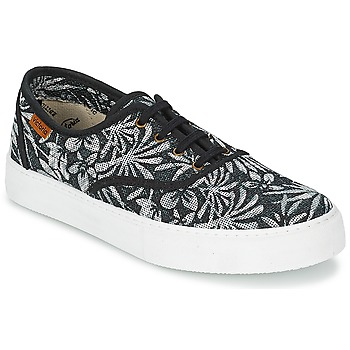 Παπούτσια Γυναίκα Χαμηλά Sneakers Victoria INGLES ESTAP HOJAS TROPICAL Black