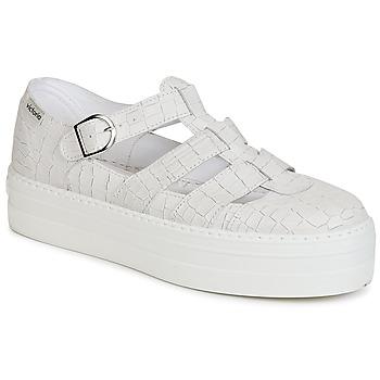 Παπούτσια Γυναίκα Σανδάλια / Πέδιλα Victoria SANDALIA PIEL GRABADA COCO άσπρο