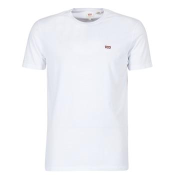 Υφασμάτινα Άνδρας T-shirt με κοντά μανίκια Levi's SS ORIGINAL HM TEE Άσπρο