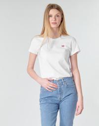 Υφασμάτινα Γυναίκα T-shirt με κοντά μανίκια Levi's PERFECT TEE Άσπρο
