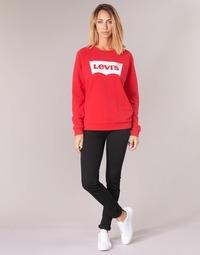 Υφασμάτινα Γυναίκα Skinny jeans Levi's 711 SKINNY Μαυρο / Sheep