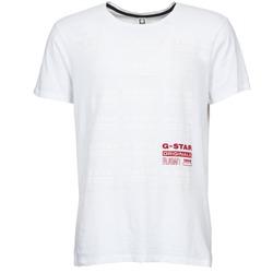 Υφασμάτινα Άνδρας T-shirt με κοντά μανίκια G-Star Raw RITZIEN Άσπρο