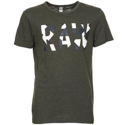 Υφασμάτινα Άνδρας T-shirt με κοντά μανίκια G-Star Raw MOIRIC R T S/S Kaki