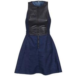 Υφασμάτινα Γυναίκα Κοντά Φορέματα G-Star Raw SUTZIL DRESS MARINE / Black