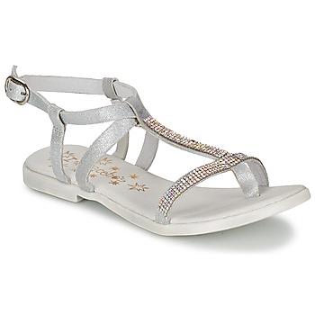 Παπούτσια Κορίτσι Σανδάλια / Πέδιλα Acebo's MADALEN Argenté