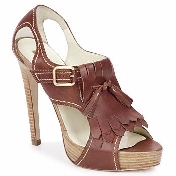 Παπούτσια Γυναίκα Σανδάλια / Πέδιλα Rupert Sanderson MANON Elbamatt-cuoio