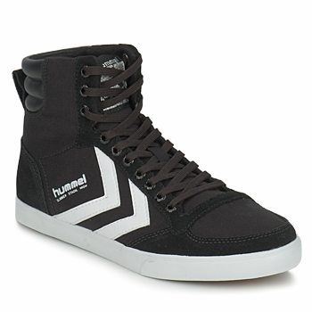 Παπούτσια Ψηλά Sneakers Hummel TEN STAR HIGH CANVAS Black / άσπρο