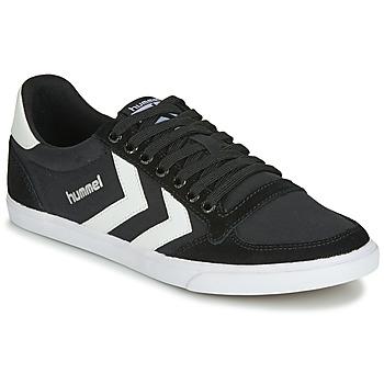 Παπούτσια Χαμηλά Sneakers Hummel TEN STAR LOW CANVAS Black / Άσπρο