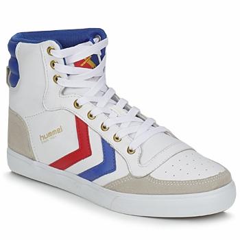 Παπούτσια Ψηλά Sneakers Hummel STADIL HIGH Άσπρο / Μπλέ / Red
