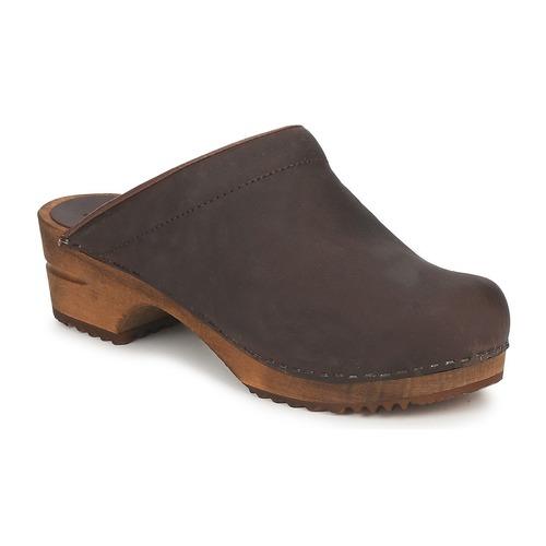 Παπούτσια Γυναίκα Σαμπό Sanita CHRISSY OPEN Brown