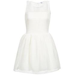 Υφασμάτινα Γυναίκα Κοντά Φορέματα Brigitte Bardot AGNES Άσπρο