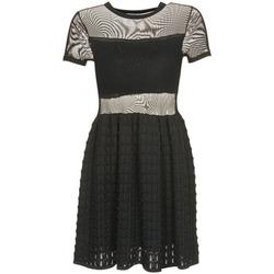 Υφασμάτινα Γυναίκα Κοντά Φορέματα Brigitte Bardot ALBERTINE Black