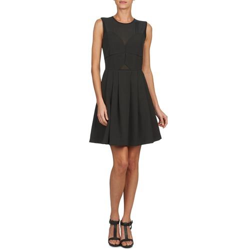 Υφασμάτινα Γυναίκα Κοντά Φορέματα Brigitte Bardot ALEXANDRIE Black