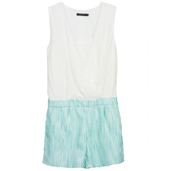 Υφασμάτινα Γυναίκα Ολόσωμες φόρμες / σαλοπέτες Color Block ALIX Μπλέ