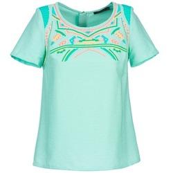 Υφασμάτινα Γυναίκα Μπλούζες Color Block ADRIANA Μπλέ