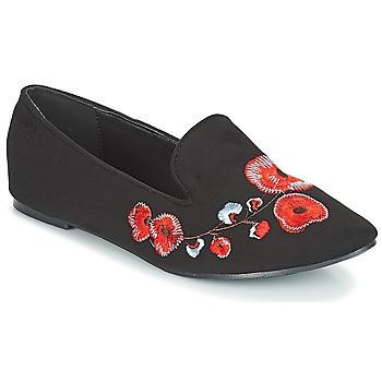 Παπούτσια Γυναίκα Μοκασσίνια Moony Mood JASMINY Black / Fleur