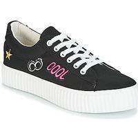 Παπούτσια Γυναίκα Χαμηλά Sneakers Coolway COOL Black