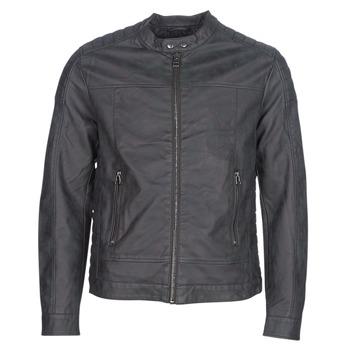 Υφασμάτινα Άνδρας Δερμάτινο μπουφάν Esprit VENI Black