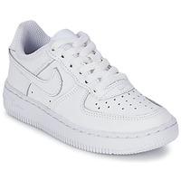 Παπούτσια Παιδί Χαμηλά Sneakers Nike AIR FORCE 1 άσπρο