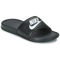Παπούτσια Άνδρας σαγιονάρες Nike BENASSI JUST DO IT Black