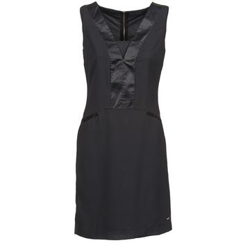 Υφασμάτινα Γυναίκα Κοντά Φορέματα La City CLAUDIA Black