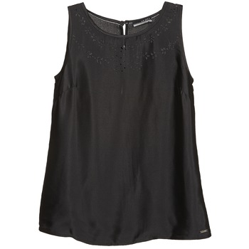 Υφασμάτινα Γυναίκα Αμάνικα / T-shirts χωρίς μανίκια La City LUCRETIA Black