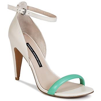 Παπούτσια Γυναίκα Σανδάλια / Πέδιλα French Connection NANETTE ροζ / Green
