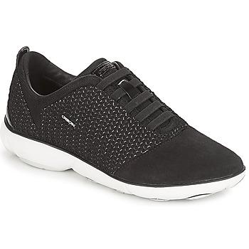 Παπούτσια Γυναίκα Χαμηλά Sneakers Geox D NEBULA Black