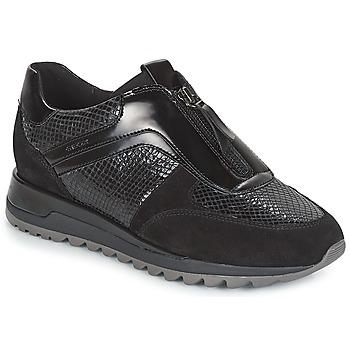 Παπούτσια Γυναίκα Χαμηλά Sneakers Geox D TABELYA Black
