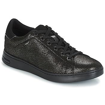 Παπούτσια Γυναίκα Χαμηλά Sneakers Geox D JAYSEN Grey / Black