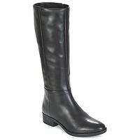 Παπούτσια Γυναίκα Μπότες για την πόλη Geox D FELICITY Black